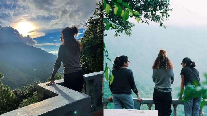 Taapsee Pannu celebrates birthday on Blurr set with sister Shagun Pannu, Gulshan Devaiah; see pics