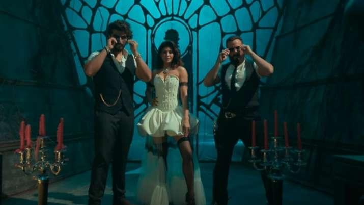 Aayi Aayi Bhoot Police song teaser: Arjun Kapoor, Jacqueline & Saif as 'tantrics' set internet ablaz