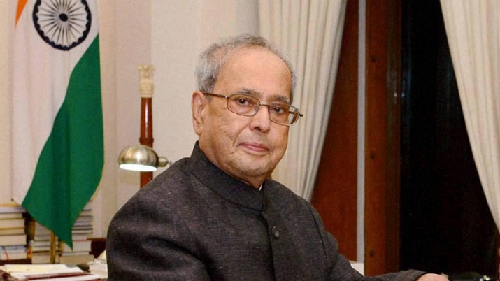 Pranab Mukherjee made remarkable contributions to nation's progress: PM on first death anniv of ex-p