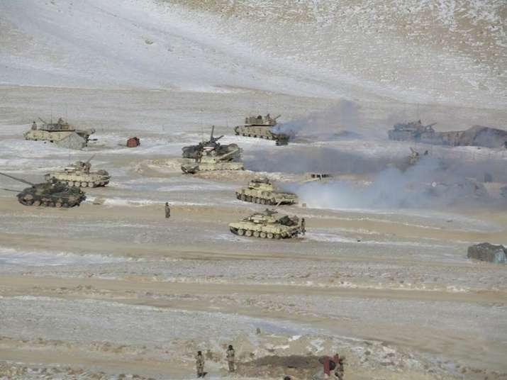 eastern ladakh tanks