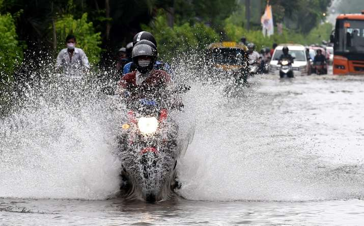 delhi rains today