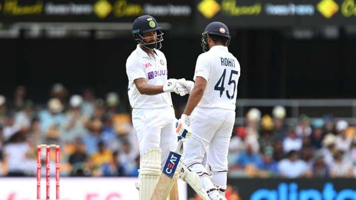 Cheteshwar Pujara and Rohit Sharma