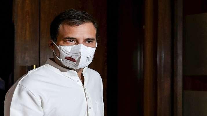 Congress leader Rahul Gandhi.