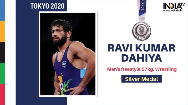 Ravi Dahiya makes history, wins India's first Olympic wrestling silver after nine years