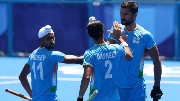 Punjab govt announces Rs 1 crore cash award for state players in  bronze-winning men's hockey team   Other News – India TV