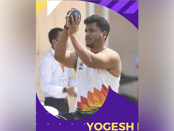 yogesh kathuniya discus throw silver medal tokyo paralympics
