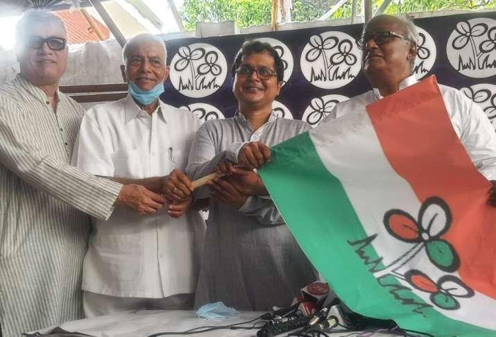RTI activist Saket Gokhale joins TMC