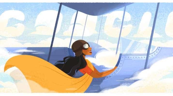 Google celebrates India's first woman pilot, Sarla Thukral with doodle