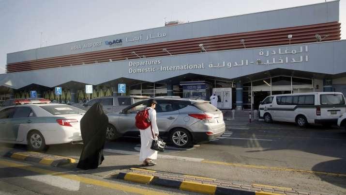 FILE - In this Aug. 22, 2019 file photo, Saudi passengers
