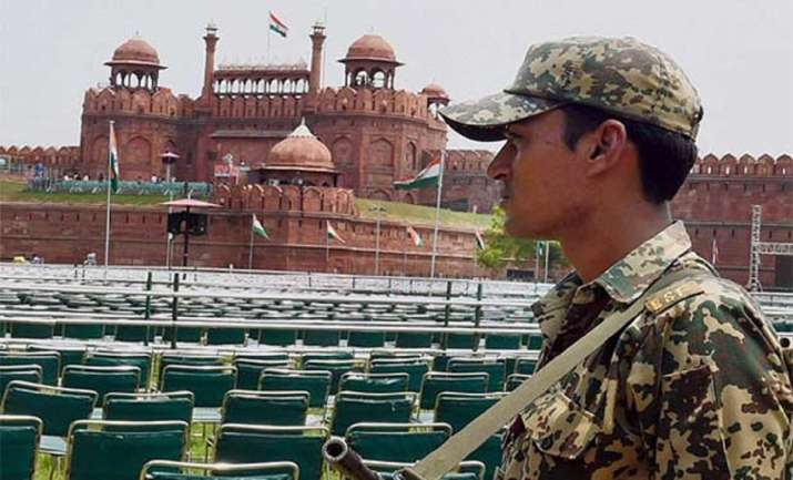 red fort independence day security arrangements
