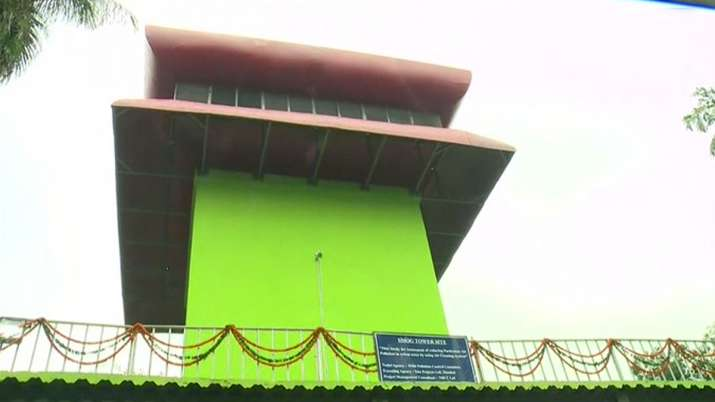 smog tower delhi