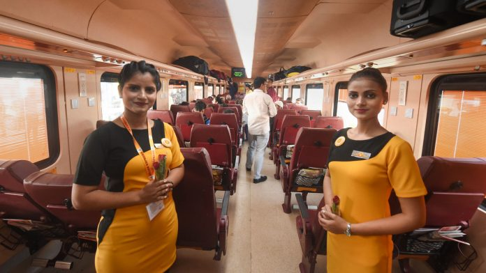 India Tv - Tejas Express is India's first semi-high speed fully air-conditioned train Introduced by Indian Railways