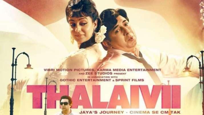 Poster of Thalaivi