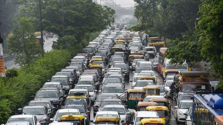 Raksha Bandhan, Delhi roads, Delhi traffic, traffic snarls, IMD yellow alert, water logging, rakhi,