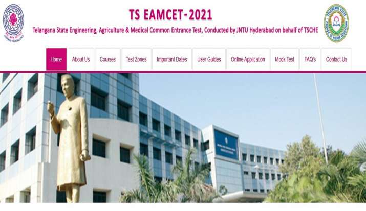 TS EAMCET 2021 Result announced |  Telangana TS EAMCET Rank Card Download eamcet.tsche.ac.in JNTU Hyderabad