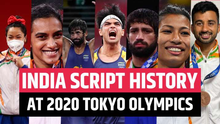 1 Gold, 2 Silver, 4 Bronze: India finish with best-ever Olympic medal tally  in Tokyo | Other News – India TV