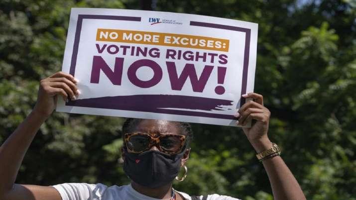 United States, House passes bill, landmark voting law, latest international news updates, President
