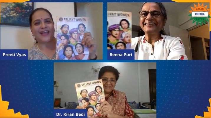 India Tv - Amar Chitra Katha launches new book 'Valiant Women'