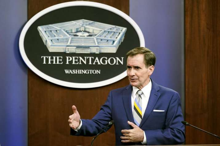 US does not need to coordinate counterterrorism airstrikes with Taliban: Pentagon