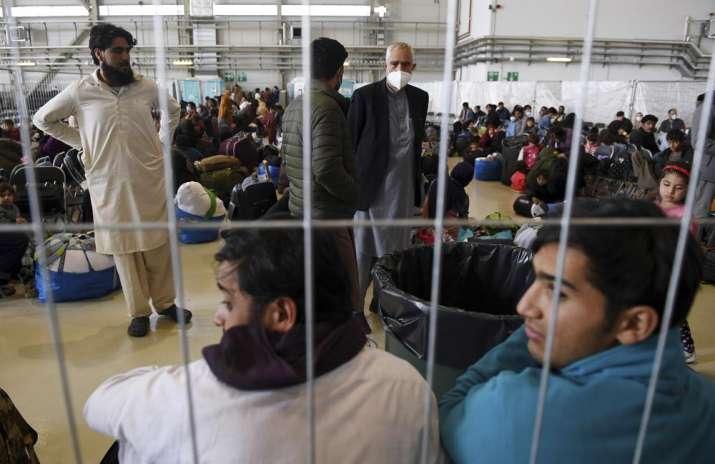 afghan evacuees halted
