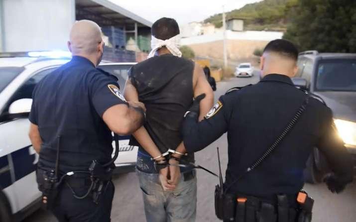 palestinian fugitives arrested