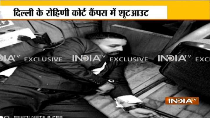 Gangster Jitendra Gogi killed in a shootout inside Rohini
