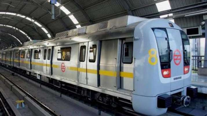yellow line, metro services, dmrc