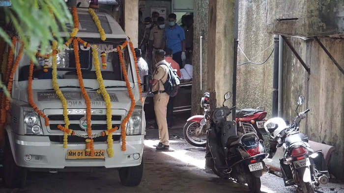 India Tv - Sidharth Shukla last rites