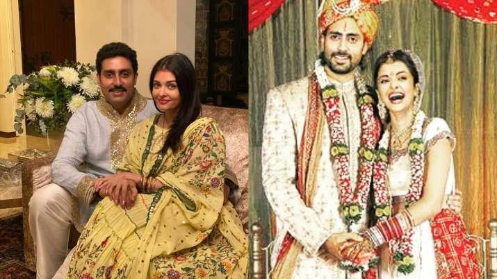Aishwarya Rai, Abhishek Bachchan's morphed pic from wedding goes viral, actor says it's 'fake'