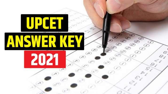 UPCET 2021 answer key