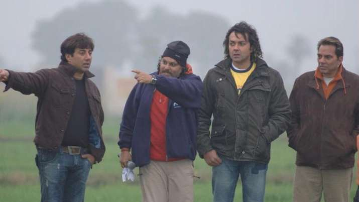 Dharmendra, Sunny Deol, Bobby Deol