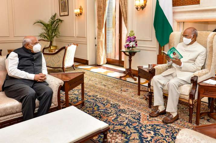 bhupendra patel meets president, vp, home minister