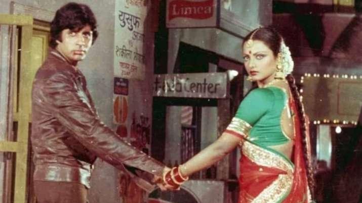 Rekha, Amitabh Bachchan