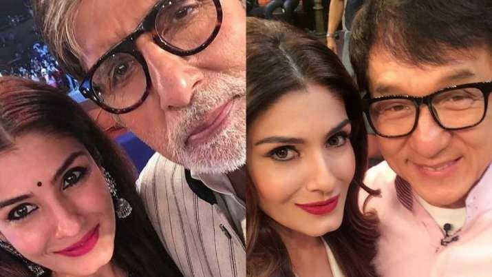 When Raveena Tandon shared her fan girl moments with Big B, Al Pacino & Jackie Chan
