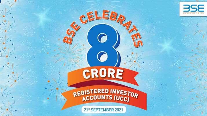 BSE registered Investors 8 Crore
