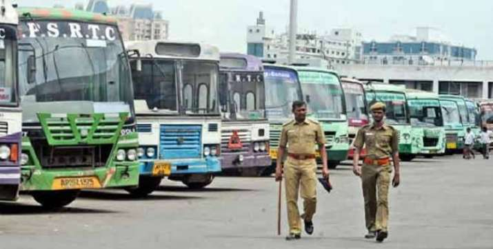 Contractual employees of Punjab Roadways, PRTC launch indefinite strike |  India News – India TV
