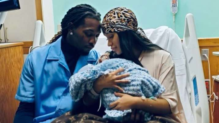 Carbi B, Offset welcome second baby together