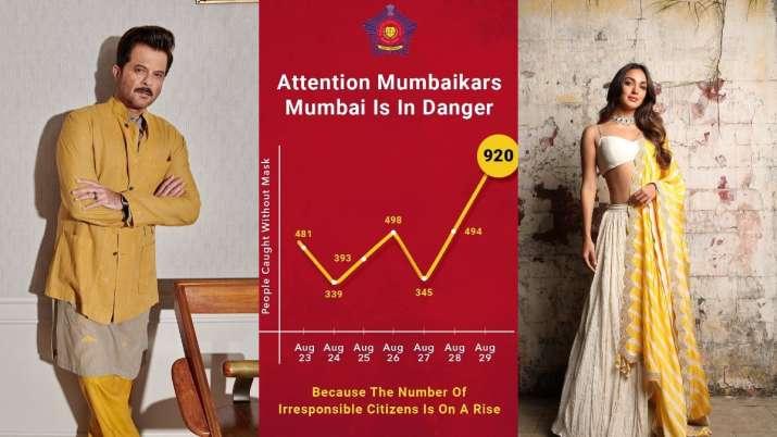Mask Up! Anil Kapoor, Kiara Advani & other celebs help