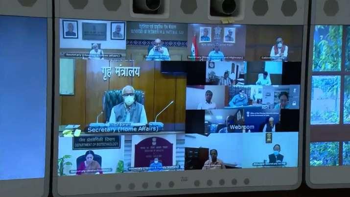 India Tv - PM Modi high level Covid review meeting, Narendra Modi covid meeting, coronavirus review meeting, pa