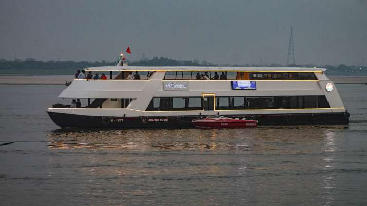 Varanasi, Mirzapur, cruise service connection, latest national news updates, Kashi Vishwanath Corrid
