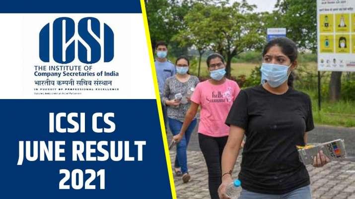 ICSI CS June exam result