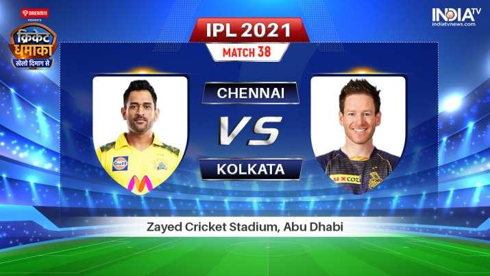 CSK vs KKR Live Streaming IPL 2021: Watch Chennai vs Kolkata live online on Hotstar JIOTV Star Sports