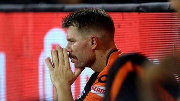 India Tv - Warner scored at a dismal strike-rate of 110.39 in the first leg of IPL 2021.