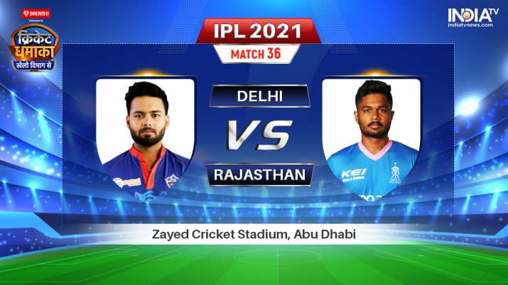 DC vs RR Live Streaming IPL 2021: When and Where to Watch Delhi vs Rajasthan Live Streaming TV and O