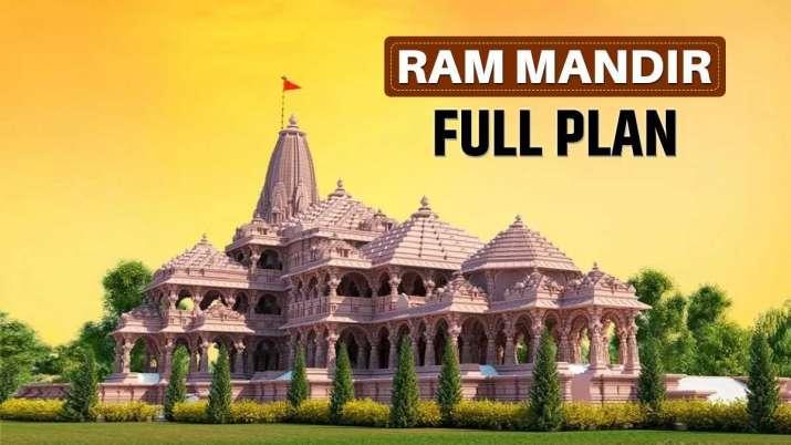 ram mandir, ram temple construction full plan, ram mandir construction masterplan, masterplan ram ma