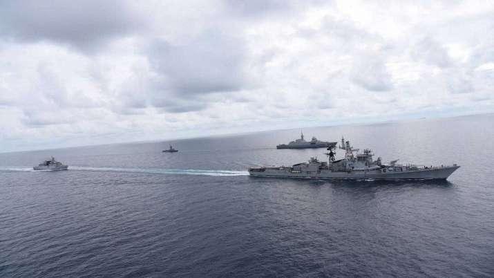 India Tv - simbex, singapore india bilateral exercise, indian navy, singapore navy, maritime bilateral exercise