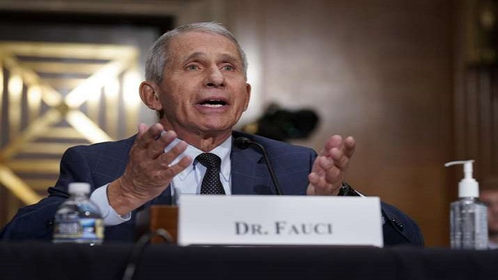 3 doses of Covid vaccine will offer full protection: Dr Fauci