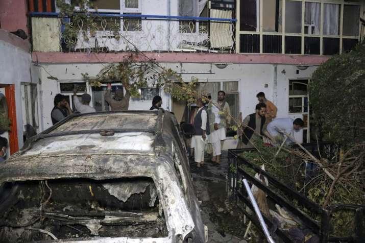 us drone strike on kabul