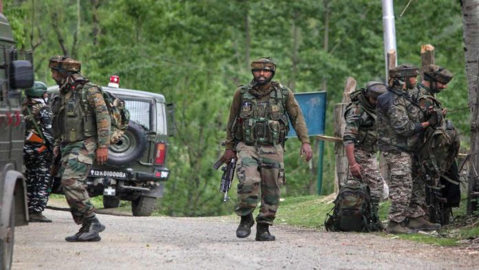 Army foils infiltration attempt along LoC in J&K's Poonch