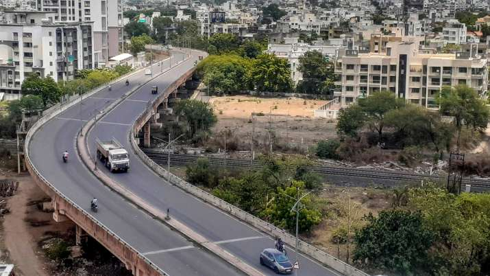 A 23-year-old man died after he fell from flyover.